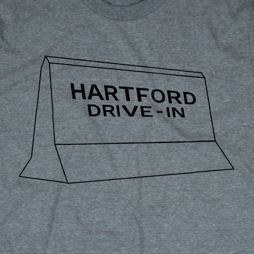 Hartford Drive-In T-Shirt Graphic Gray