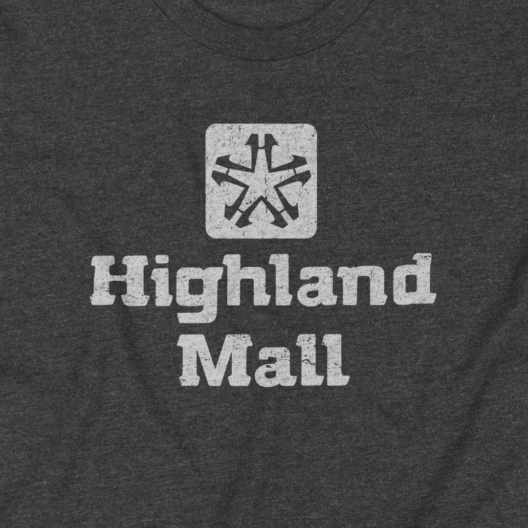 Highland Mall Austin T-Shirt Graphic Dark Gray