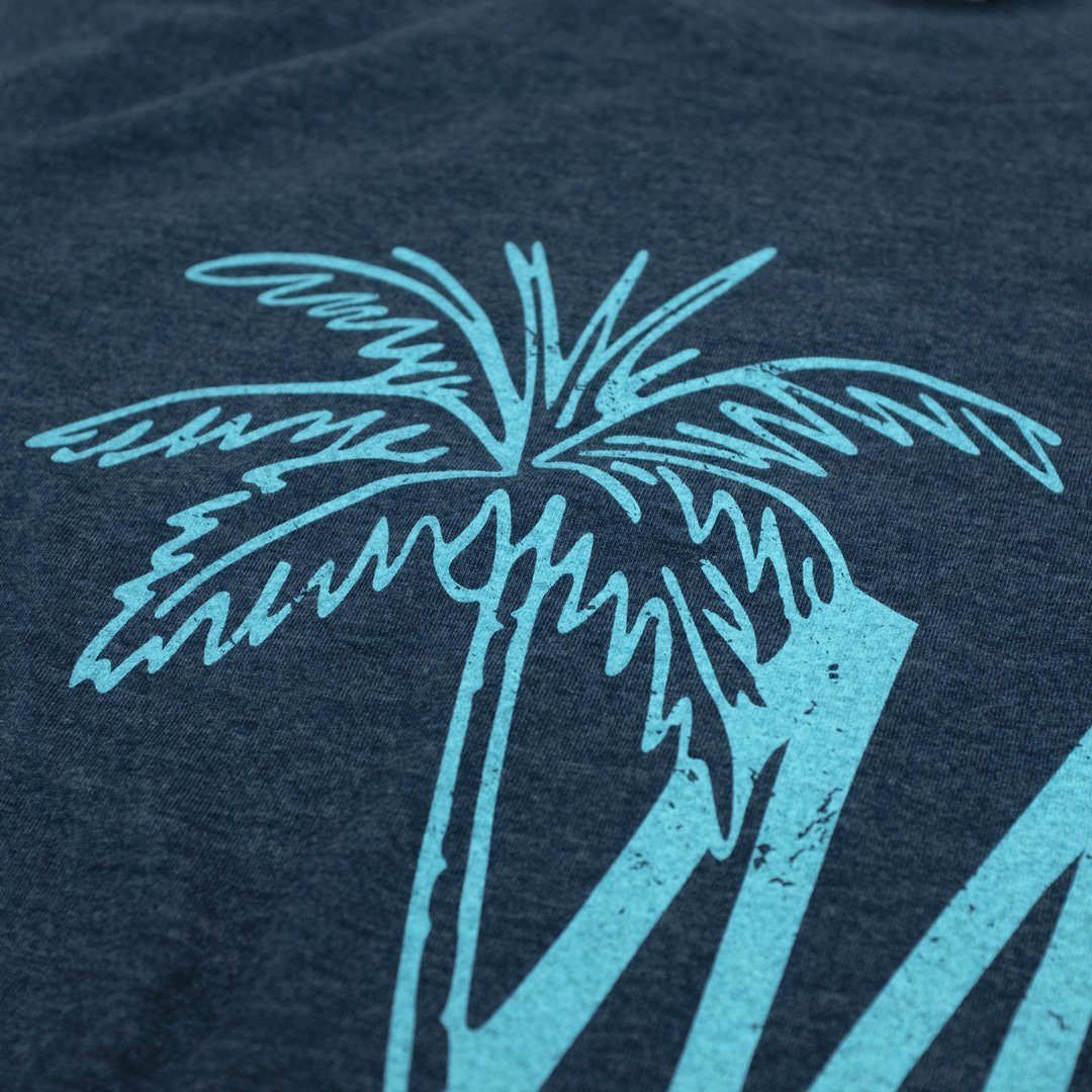Maas Brothers T-Shirt Detail Dark Blue
