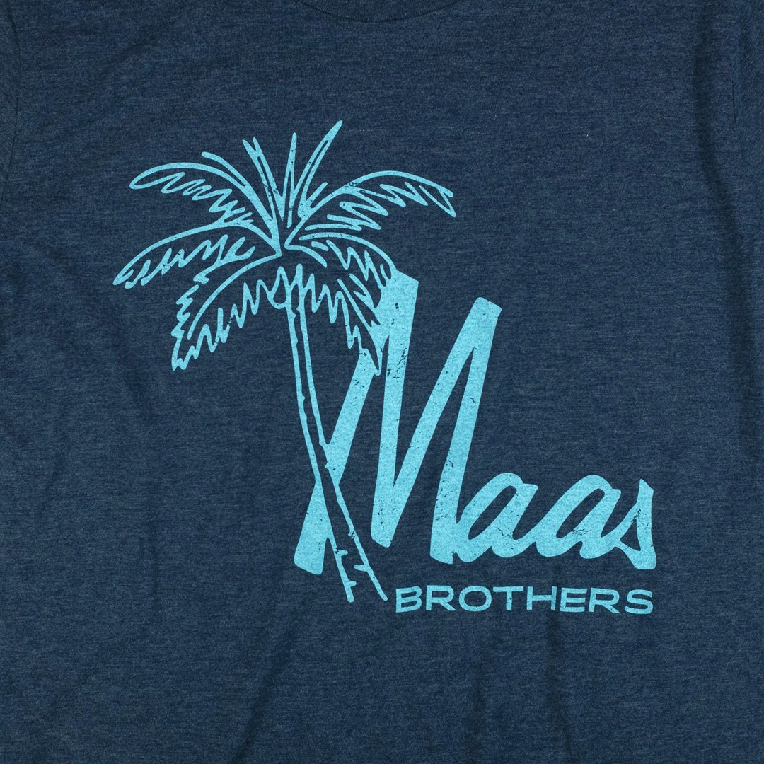 Maas Brothers T-Shirt Graphic Dark Blue