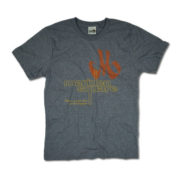 Meriden Square T-Shirt Front Gray