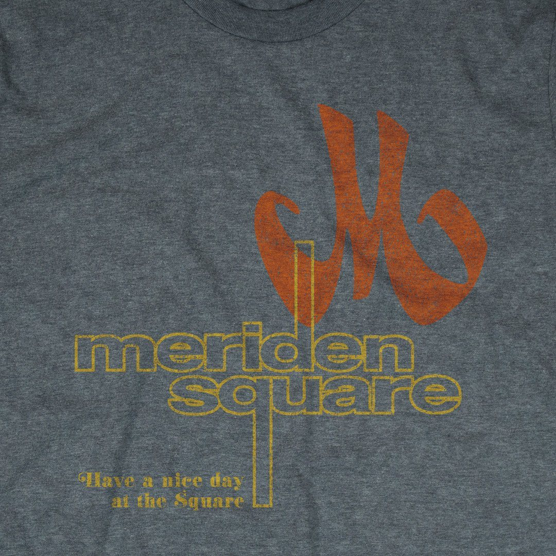 Meriden Square T-Shirt Graphic Gray