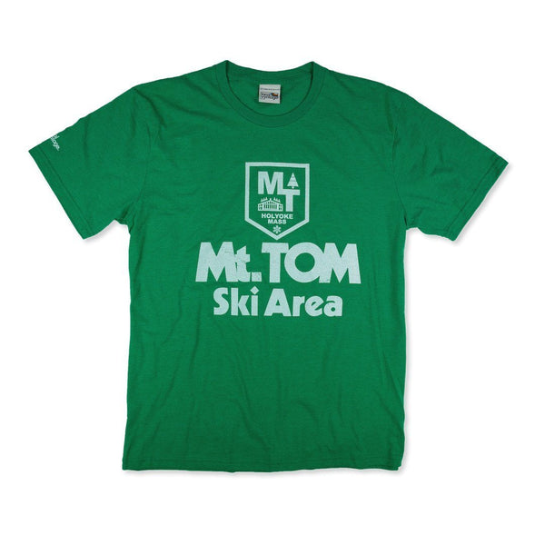 Mt. Tom Massachusetts T-Shirt Front Green