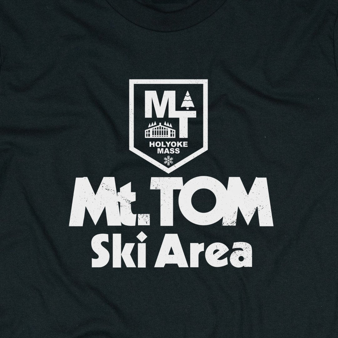 Mt. Tom Massachusetts T-Shirt Graphic Black