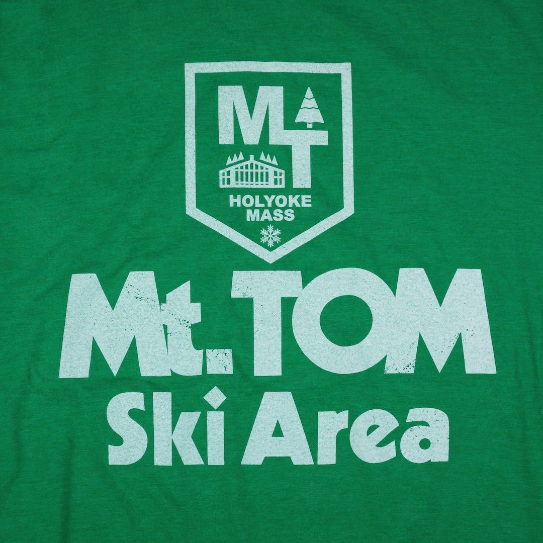 Mt. Tom Massachusetts T-Shirt Graphic Green