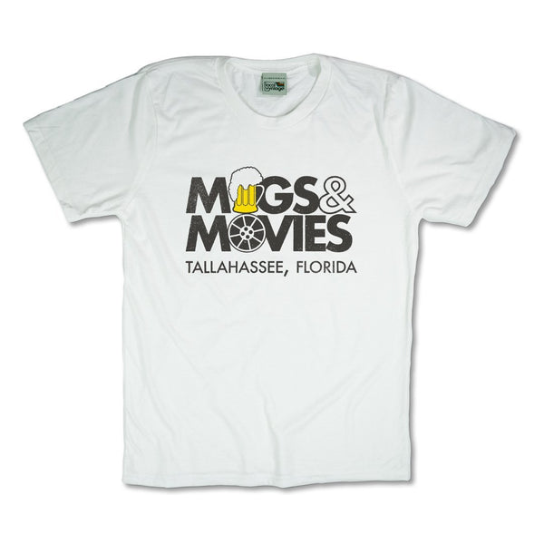 Mugs And Movies Tallahassee T-Shirt Front White