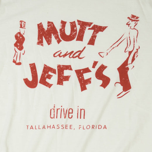 Mutt And Jeff's Tallahassee T-Shirt Graphic Off-White Men's
