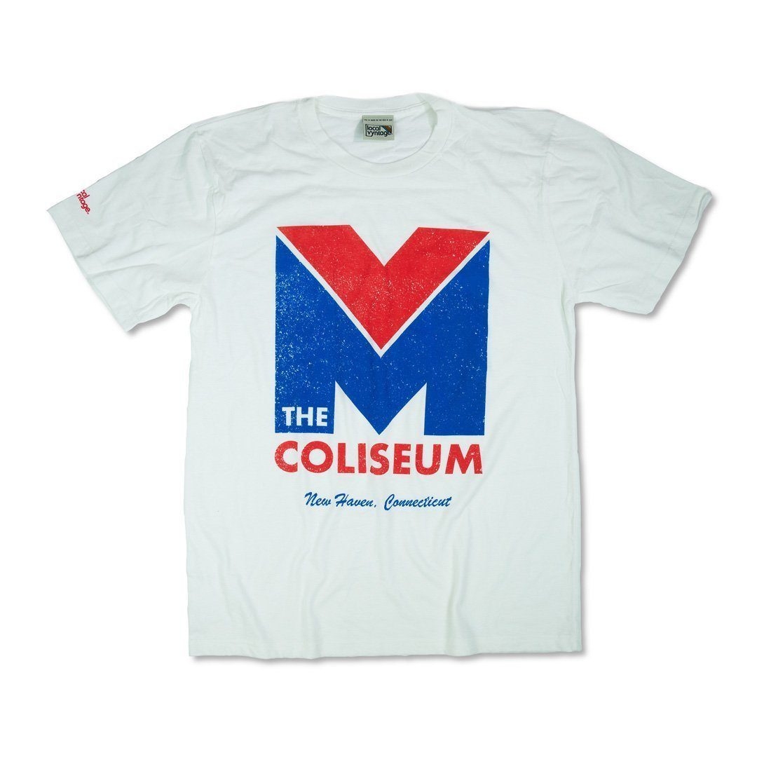 New Haven Coliseum T-Shirt Front White