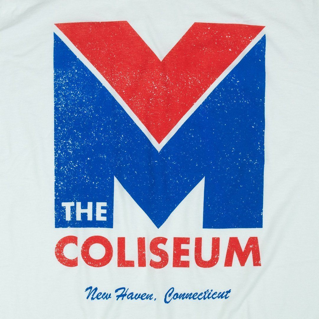 New Haven Coliseum T-Shirt Graphic White