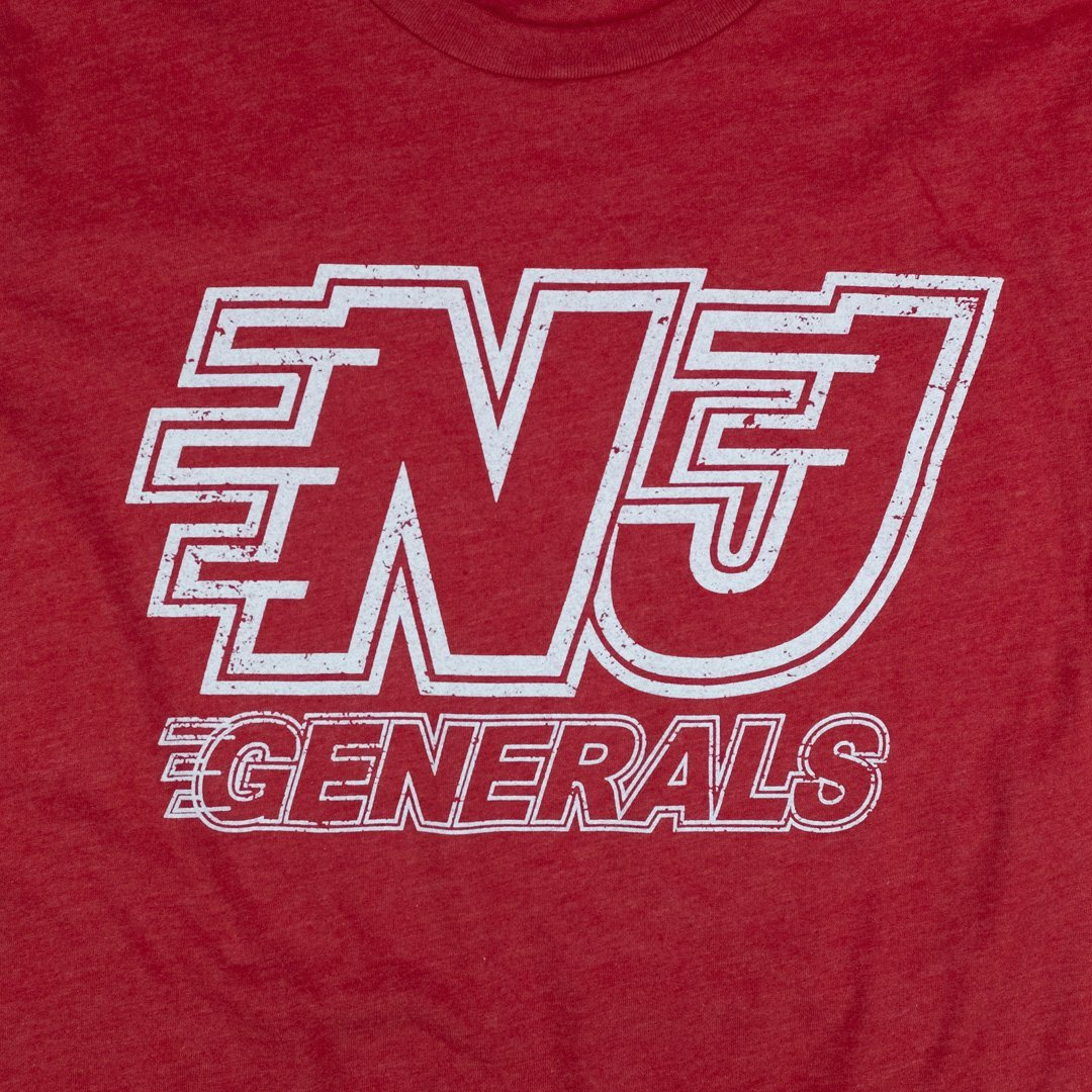 NJ Generals T-Shirt Graphic Red