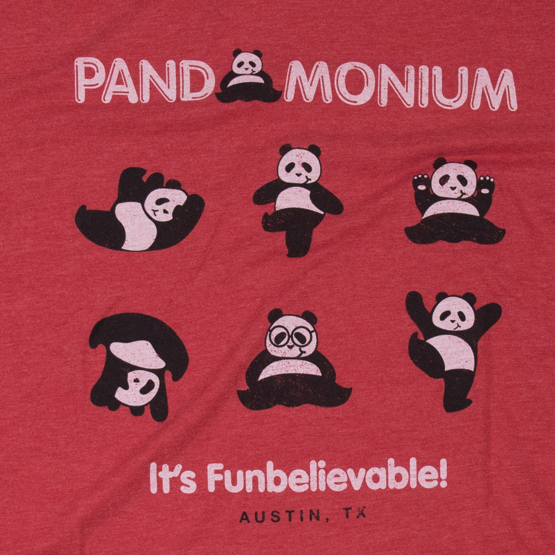 Pandamonium Austin T-shirt Graphic Red