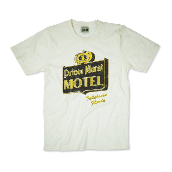 Prince Murat Motel T-Shirt Front Off-White