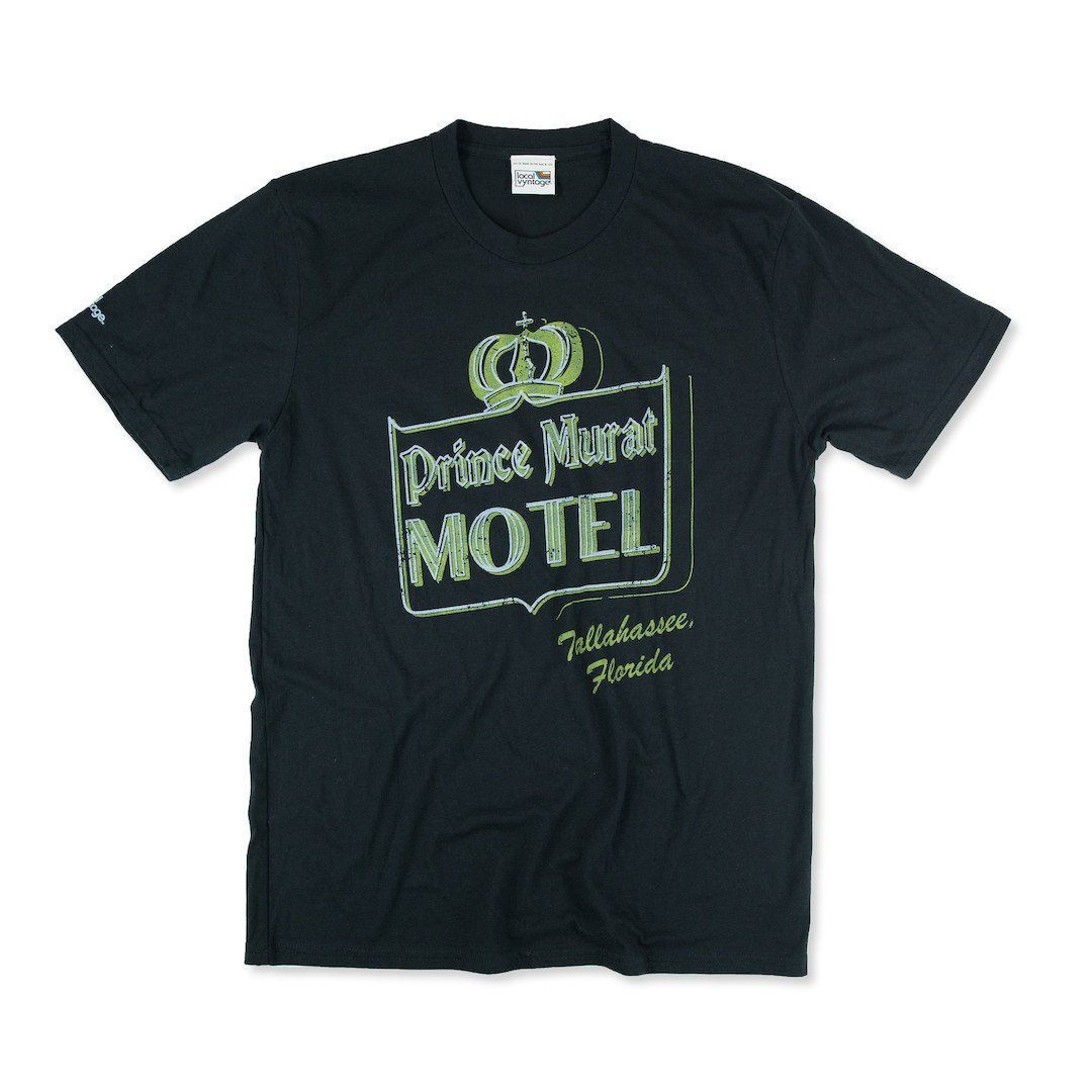 Prince Murat Motel Tallahassee T-Shirt Front Black