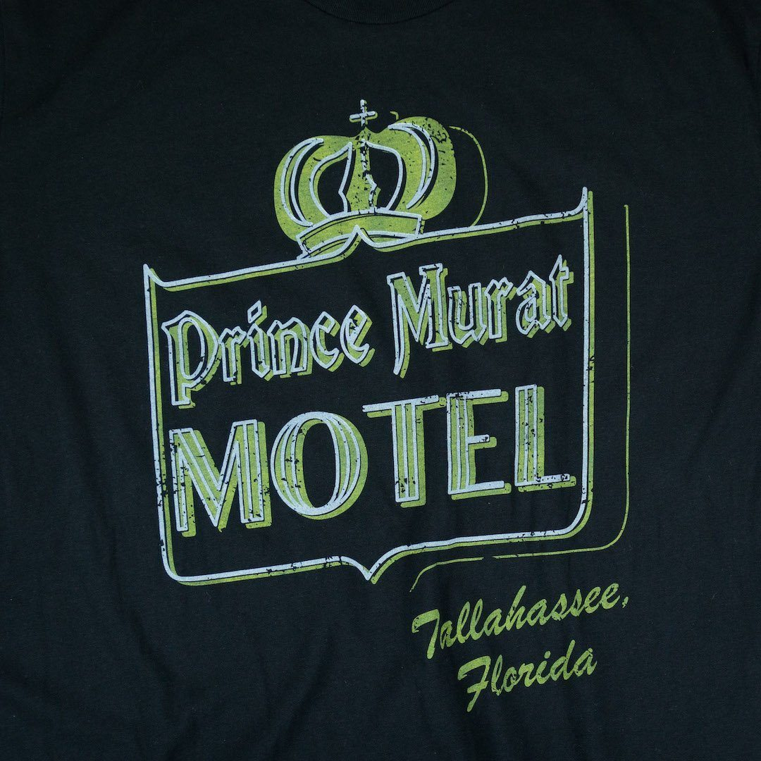 Prince Murat Motel Tallahassee T-Shirt Graphic Black