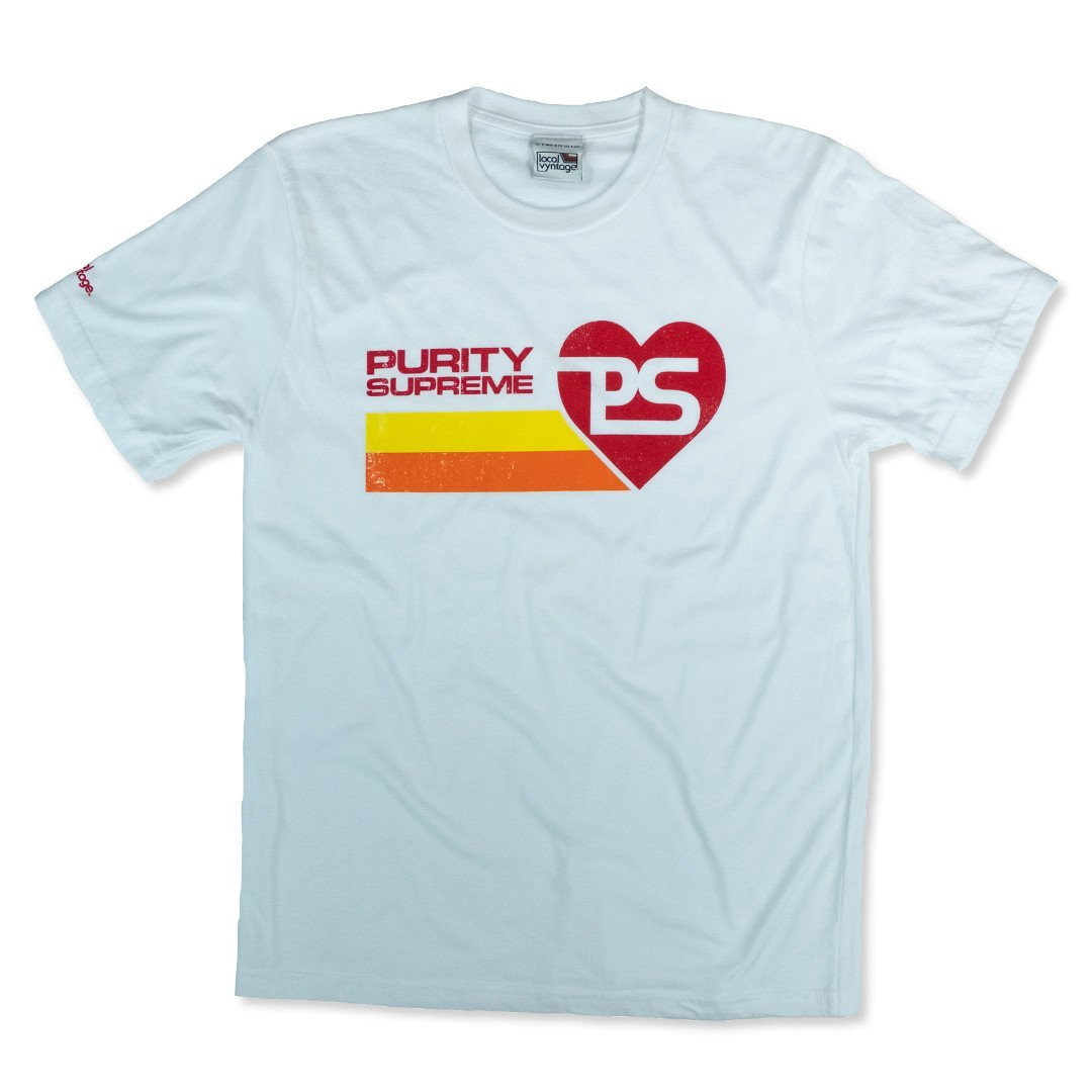 Purity Supreme T-Shirt Front White