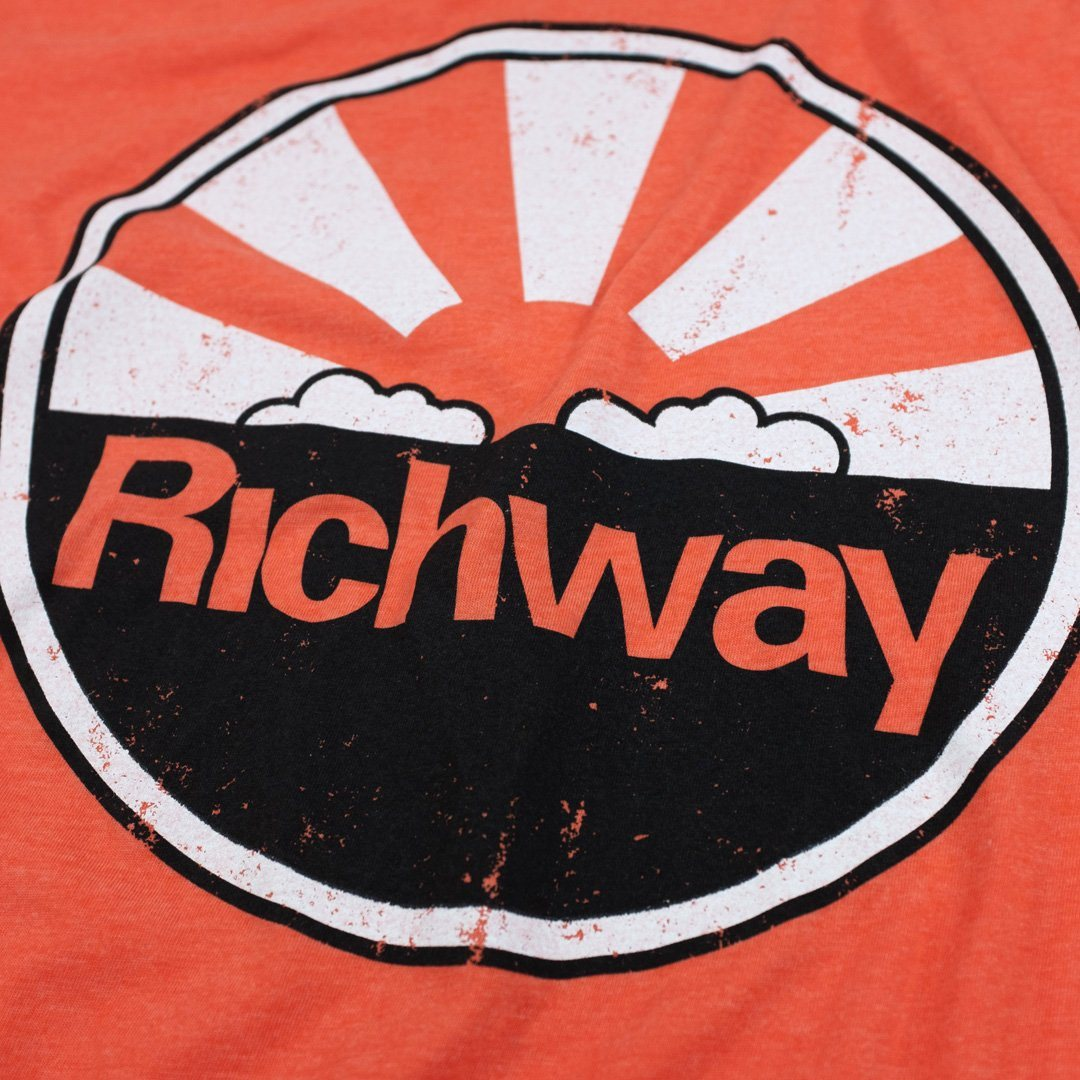 Richway T-Shirt Detail Orange