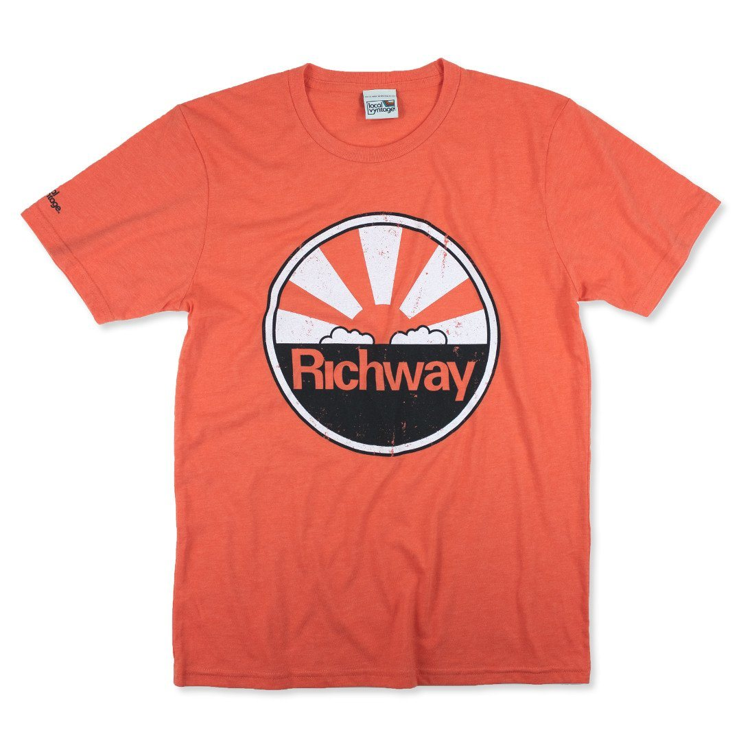 Richway T-Shirt Front Orange