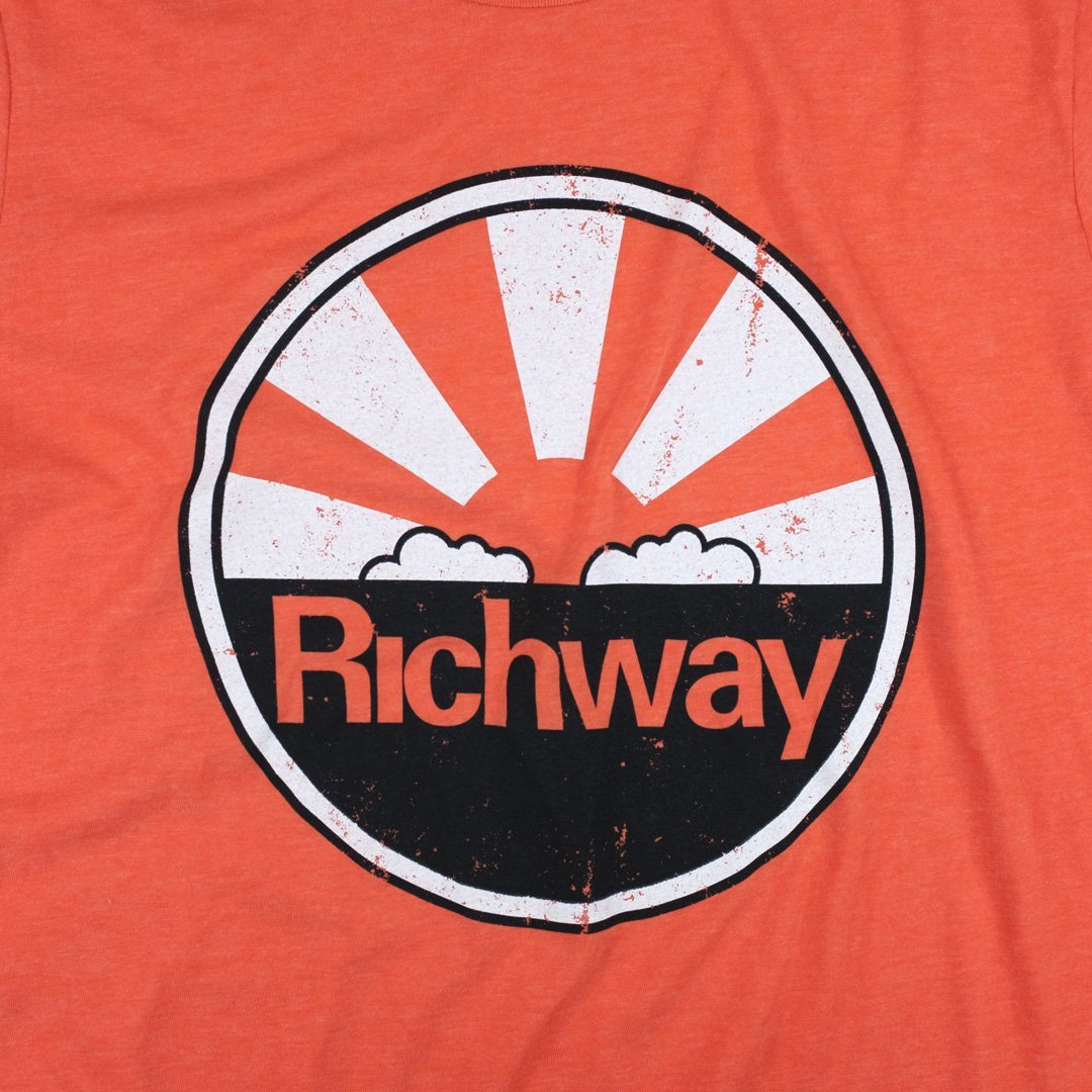 Richway T-Shirt Graphic Orange