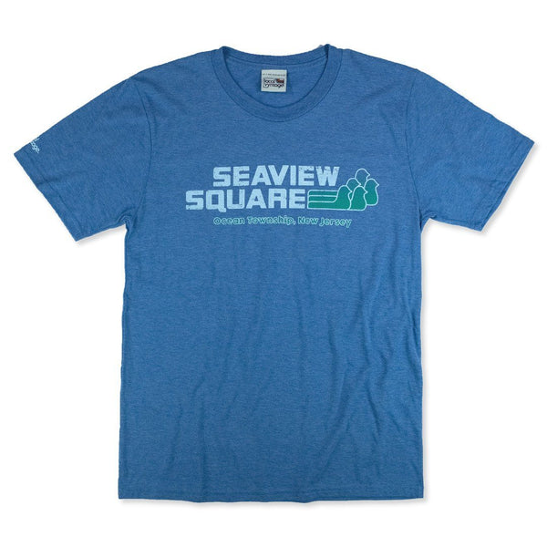 Seaview Square New Jersey T-Shirt Front Royal Blue