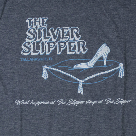 Silver Slipper Tallahassee T-Shirt Graphic Dark Blue Men's