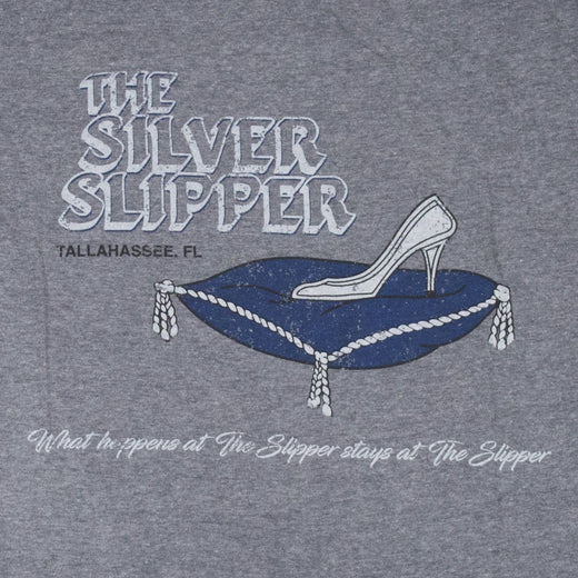 Silver Slipper Tallahassee T-Shirt Graphic Gray Men's