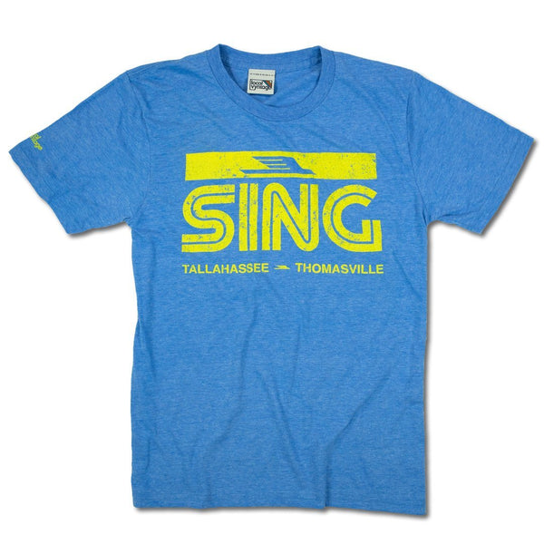 Sing Stores T-Shirt Front Royal Blue