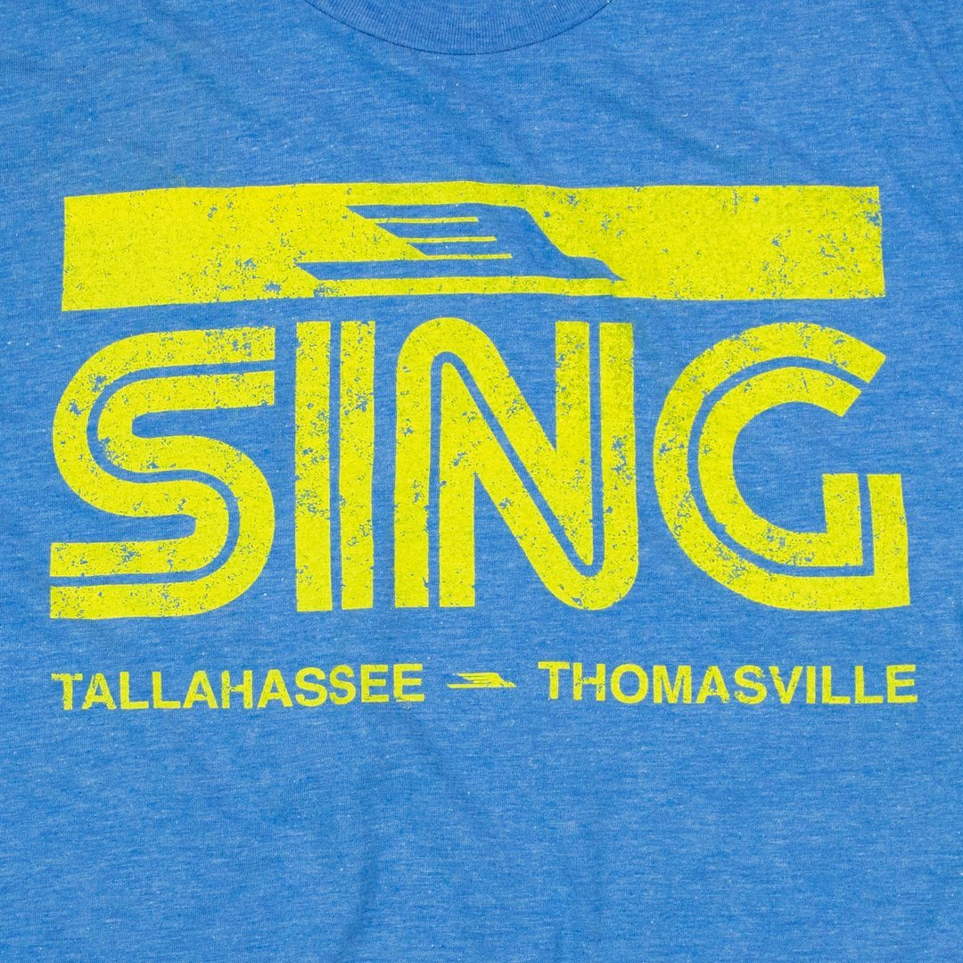 Sing Stores T-Shirt Graphic Royal Blue