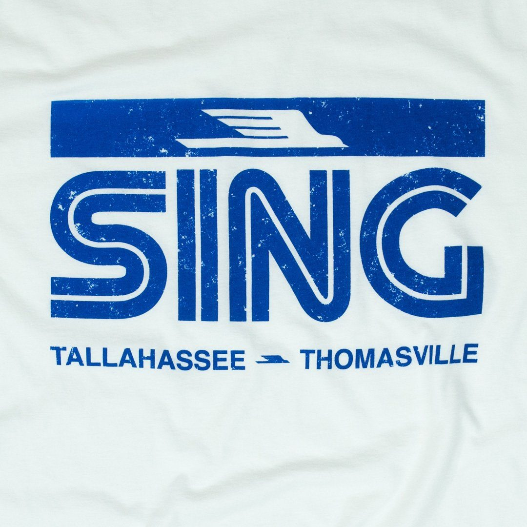 Sing Stores T-Shirt Graphic White