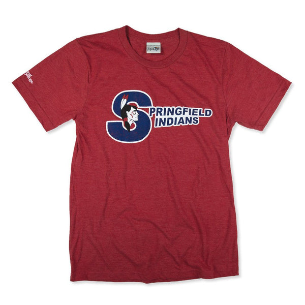 Springfield Indians T-Shirt Front Red