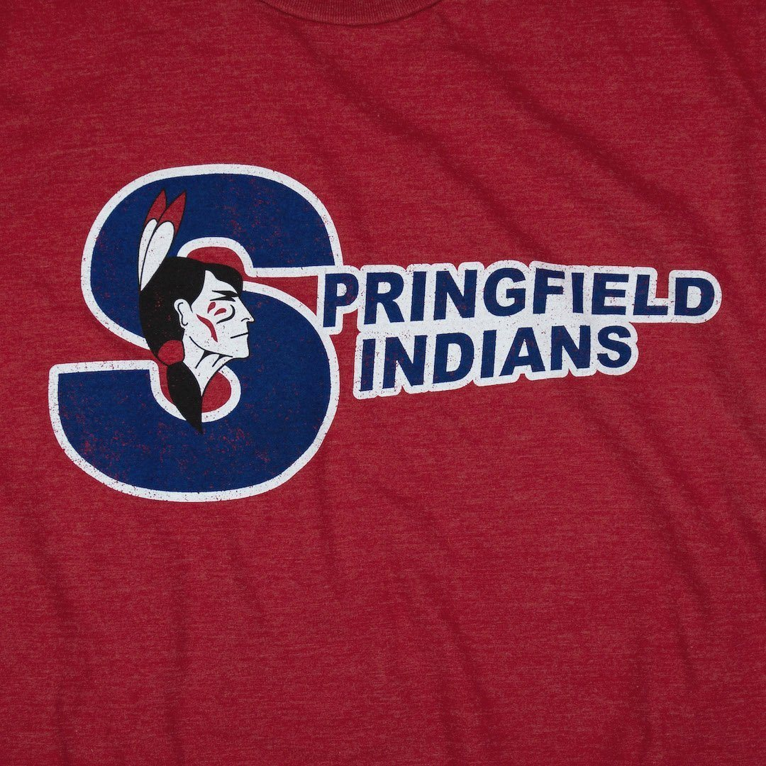 Springfield Indians T-Shirt Graphic Red