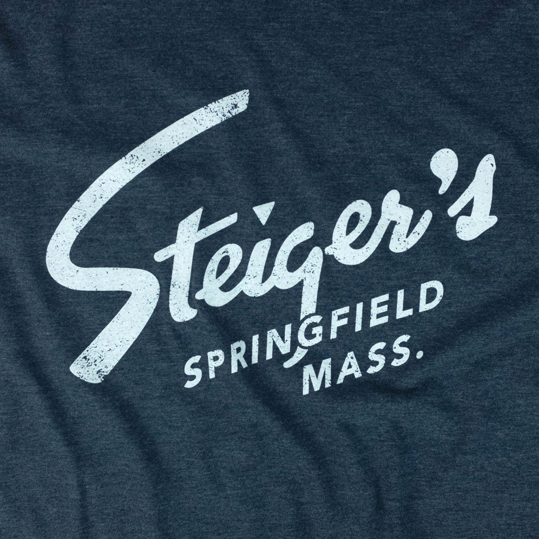 Steiger's Vintage T-Shirt Graphic Dark Blue