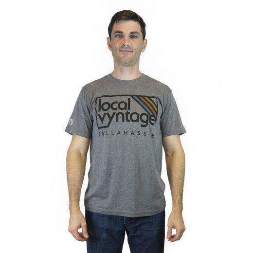 Tallahassee Local Vyntage Logo T-Shirt Jay Gray Men's