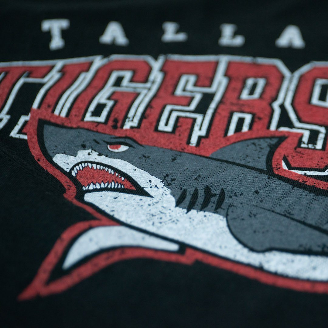 Tallahassee Tiger Sharks T-Shirt Detail Black