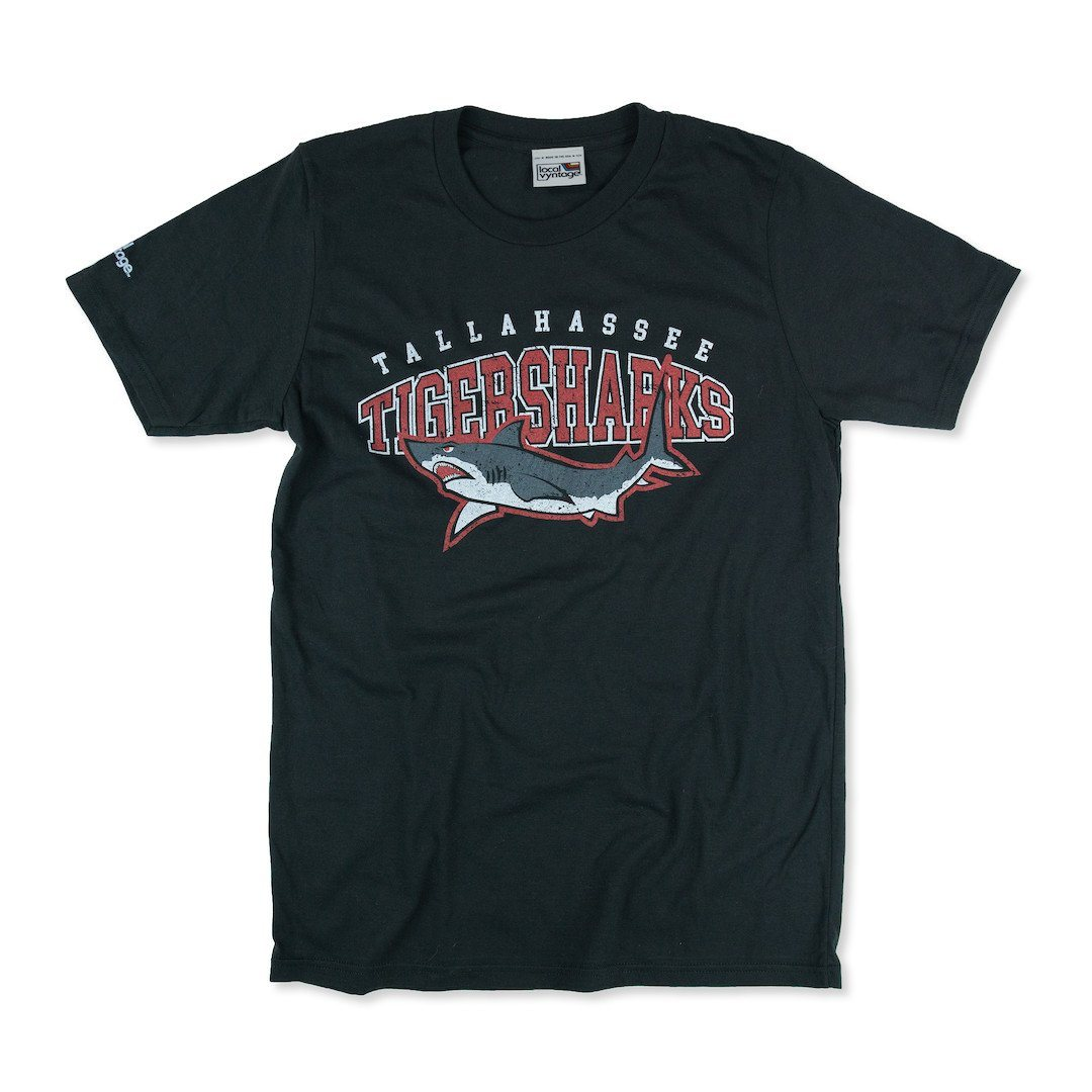 Tallahassee Tiger Sharks T-Shirt Front Black