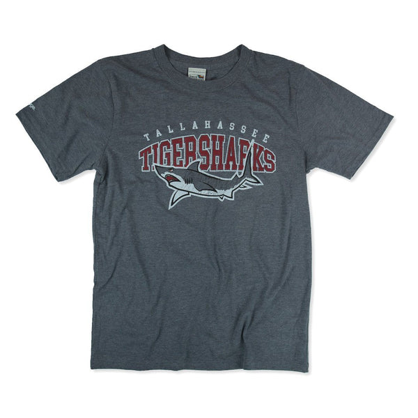 Tallahassee Tiger Sharks T-Shirt Front Gray