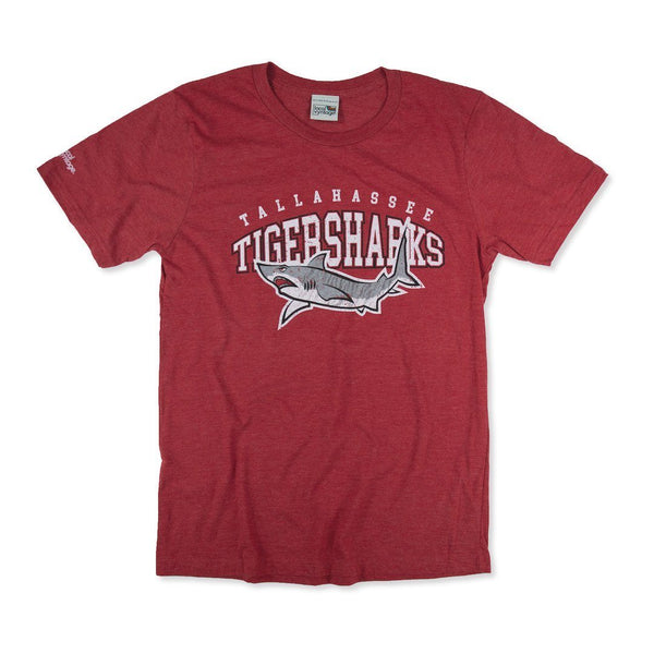 Tallahassee Tiger Sharks T-Shirt Front Red