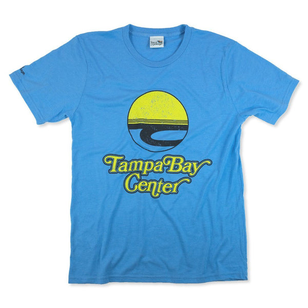 Tampa Bay Center T-Shirt Front Light Blue