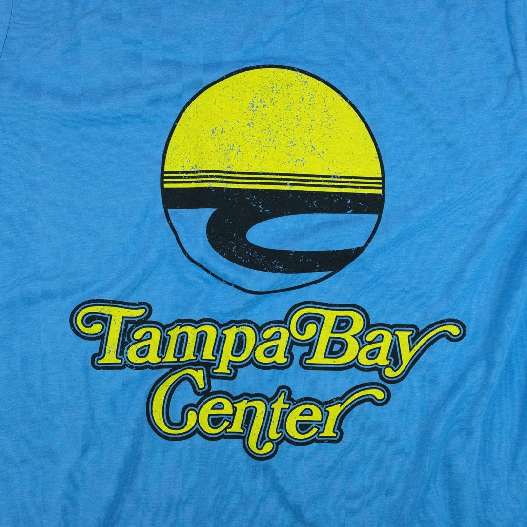 Tampa Bay Center T-Shirt Graphic Light Blue