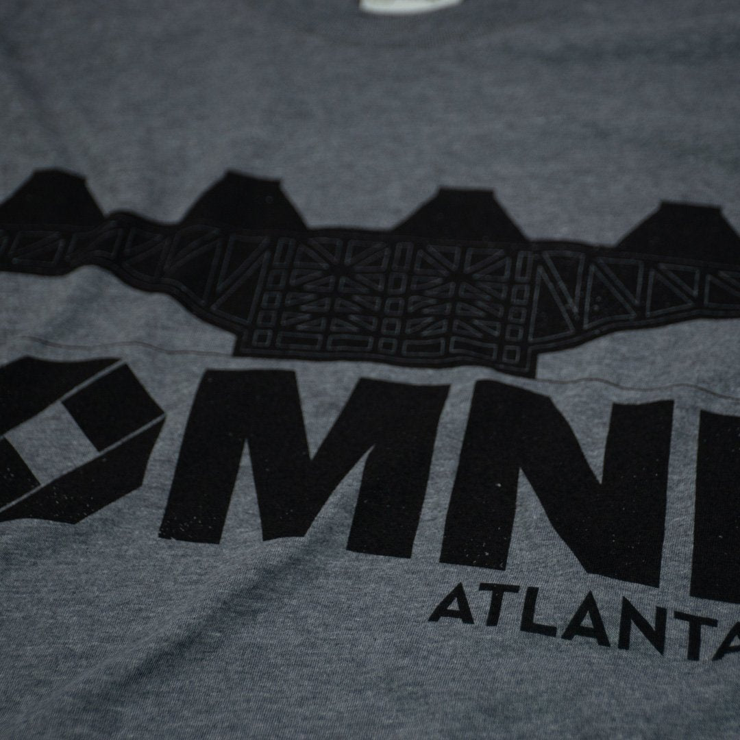 The Omni Atlanta T-Shirt Detail Gray