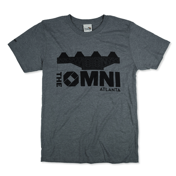 The Omni Atlanta T-Shirt Front Gray