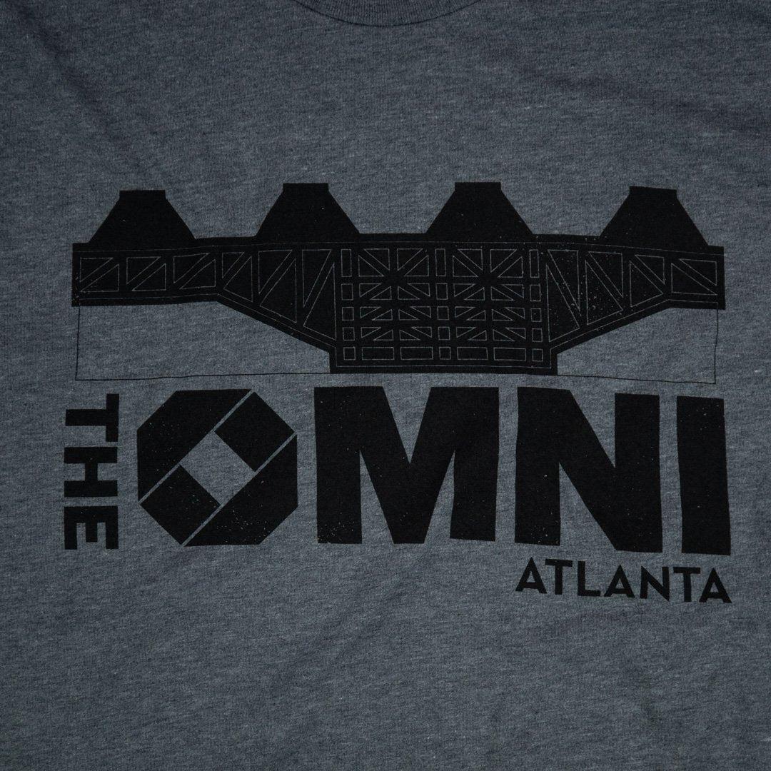 The Omni Atlanta T-Shirt Graphic Gray