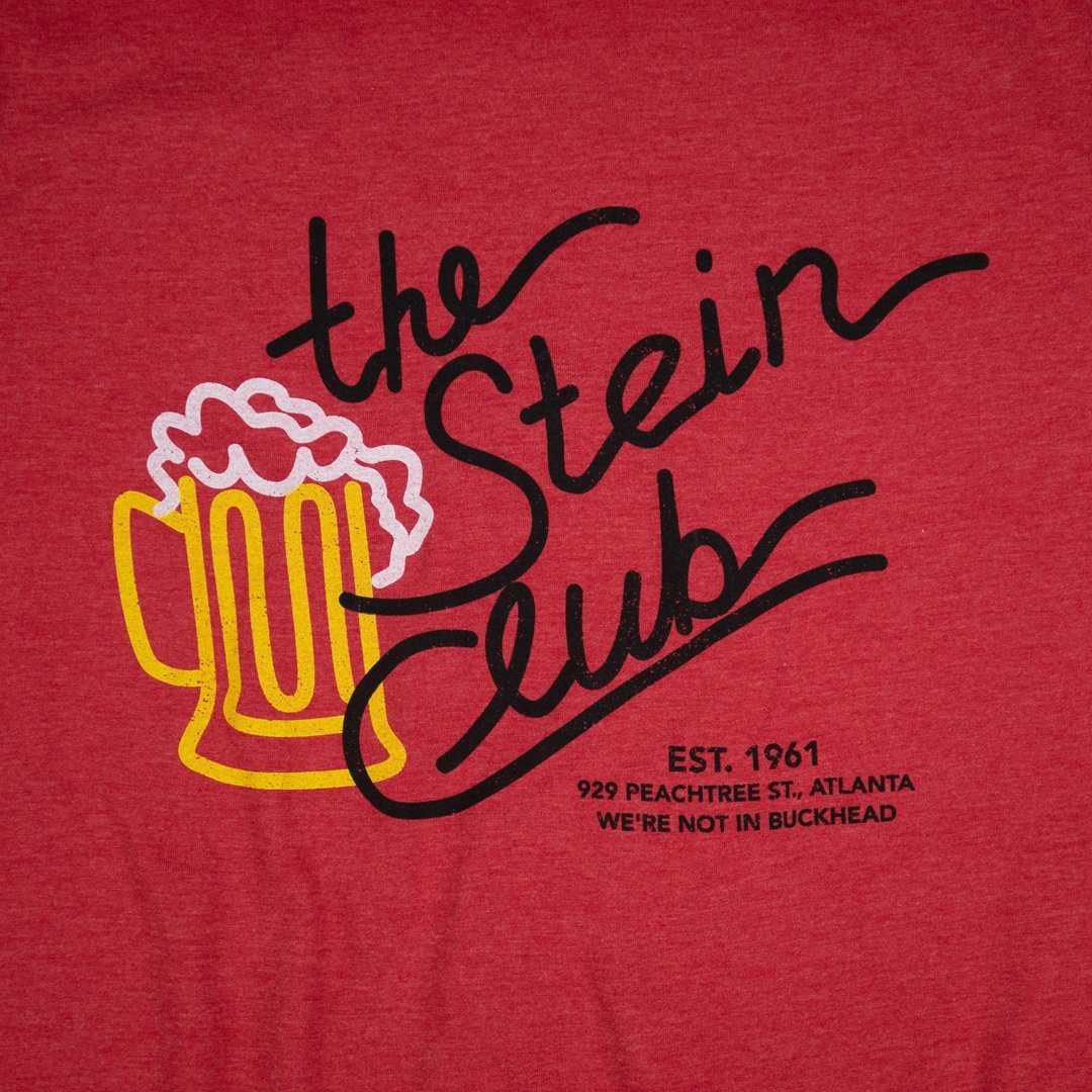 The Stein Club Atlanta T-Shirt Graphic Red