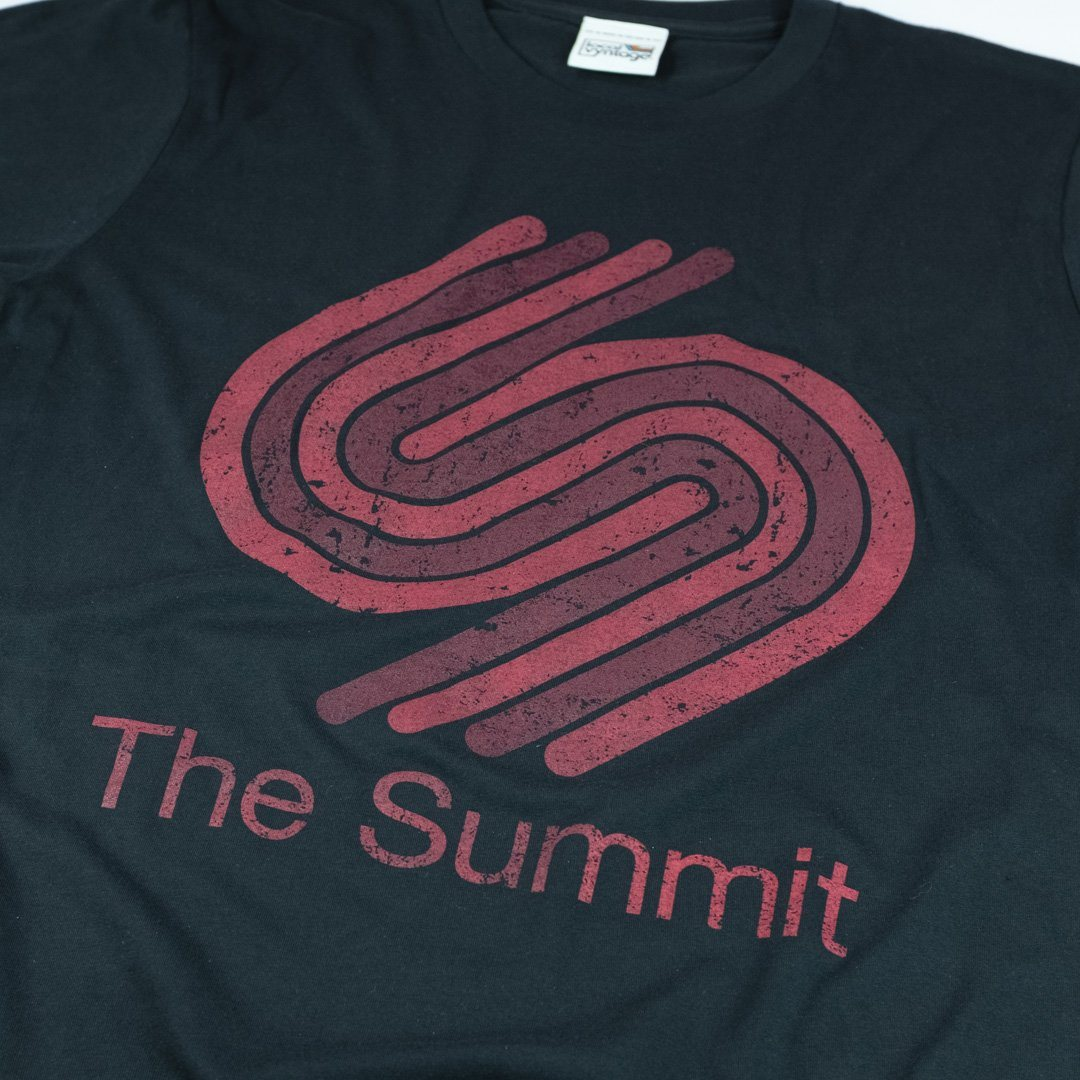 The Summit Houston T-Shirt Detail Black