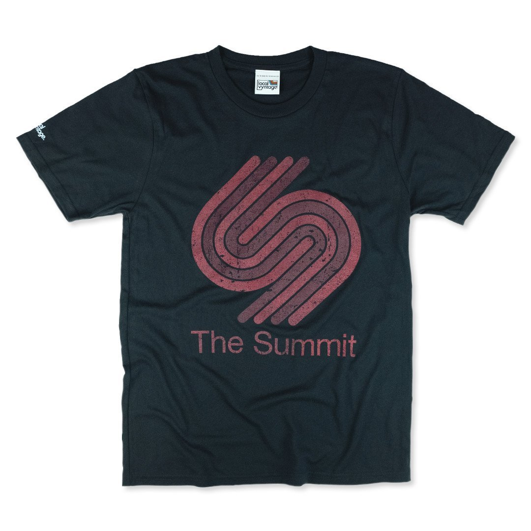 The Summit Houston T-Shirt Front Black