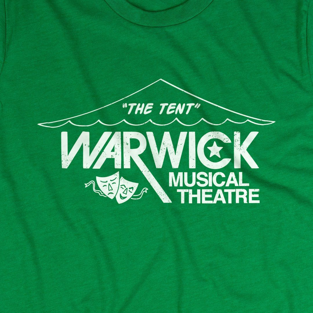 Warwick Musical Theatre The Tent T-Shirt Graphic Green