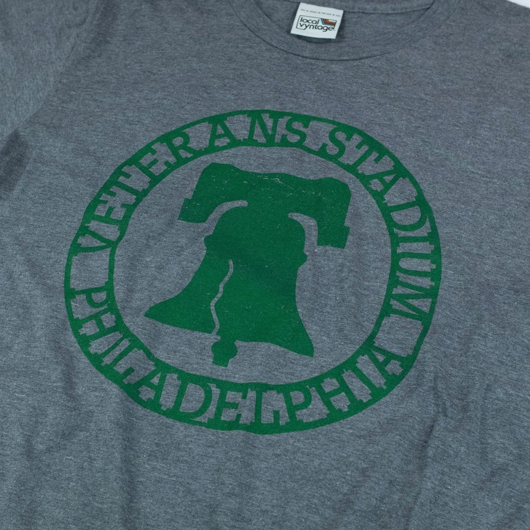 The Vet Philadelphia T-Shirt Detail Gray
