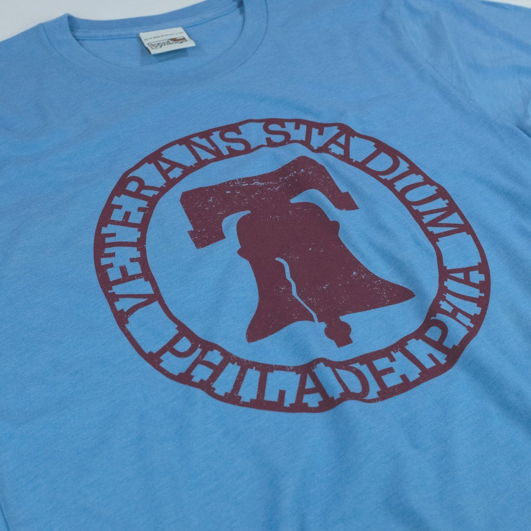 The Vet Philadelphia T-Shirt Detail Light Blue