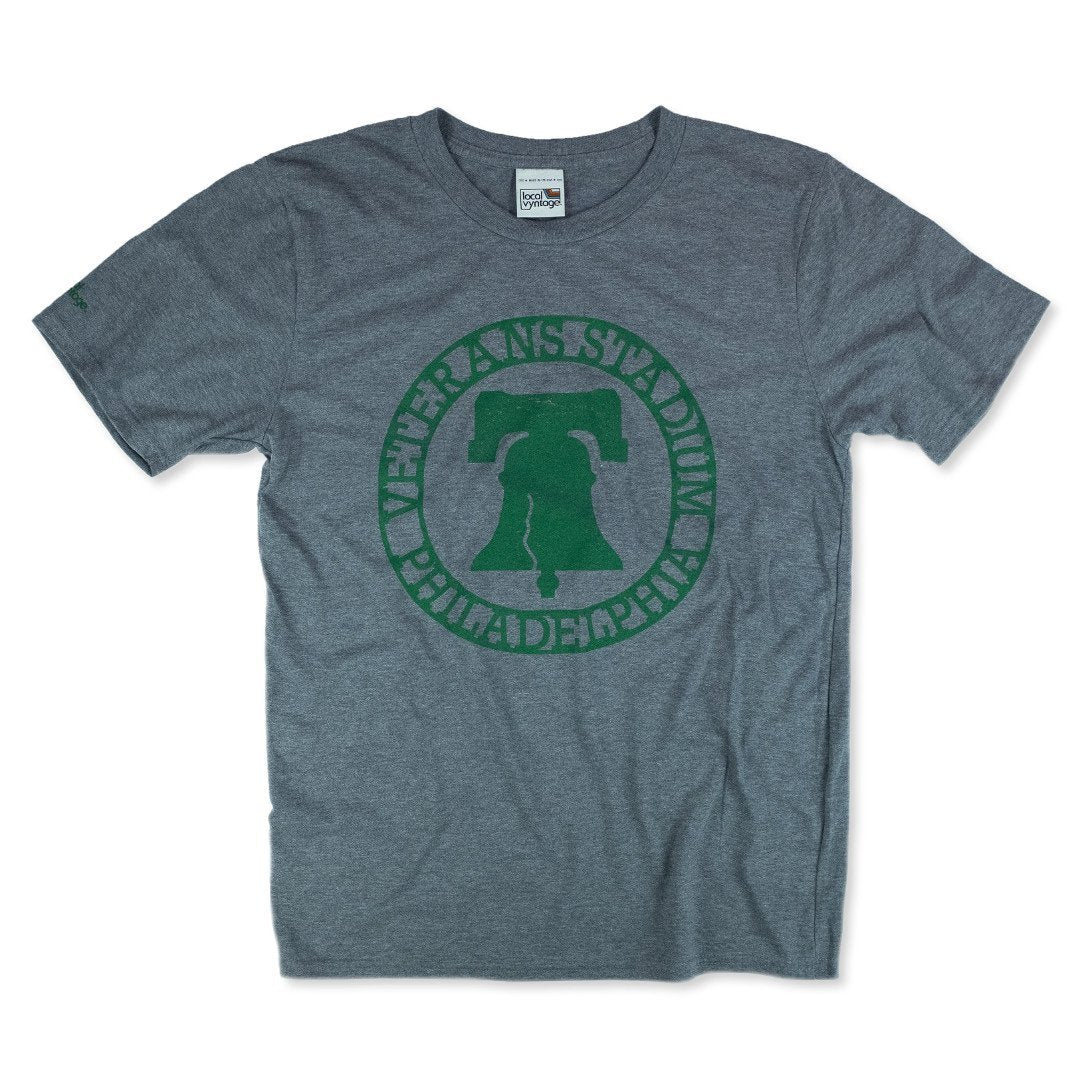 The Vet Philadelphia T-Shirt Front Gray