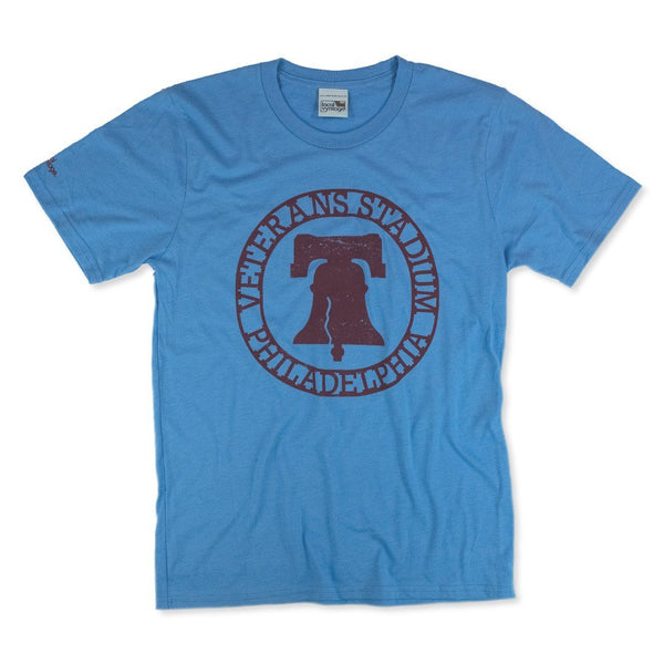 The Vet Philadelphia T-Shirt Front Light Blue