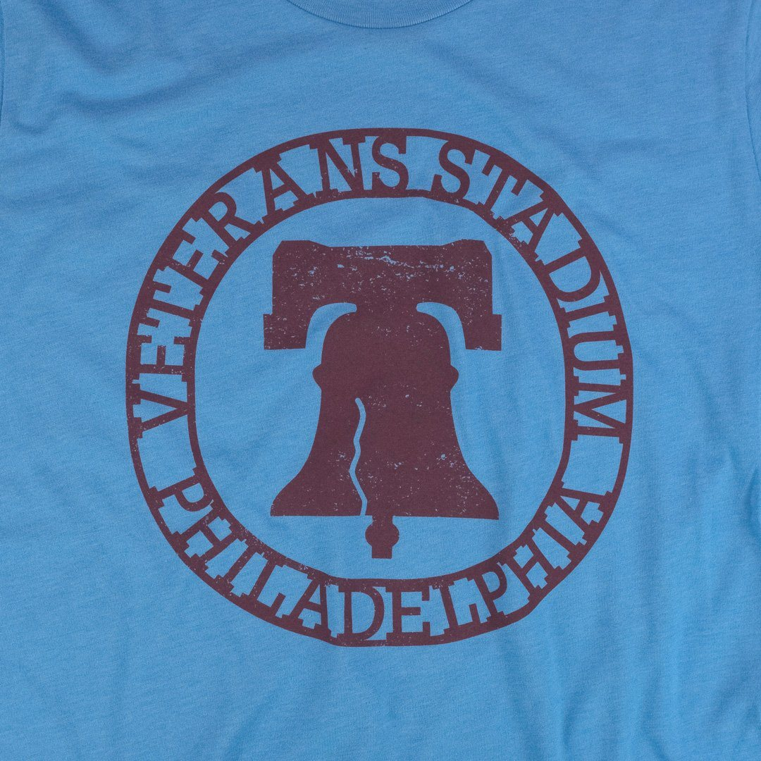 The Vet Philadelphia T-Shirt Graphic Light Blue